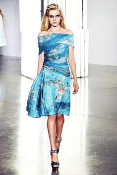 Van Gogh dress.