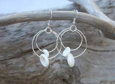 Puka Shell Earrings Puka Shell Jewelry Beach by DRaeDesigns, $12.00