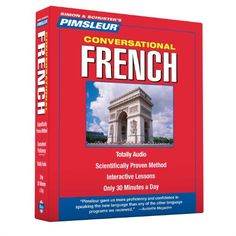 Pimsleur French Conversational Course - Level 1 Lessons 1-16 CD: Learn to Speak and Understand French with Pimsleur Language Programs by Pimsleur http://www.amazon.com/dp/0743550420/ref=cm_sw_r_pi_dp_DP0Fvb17VRVSZ