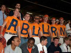 picture of auburn fans misspelling auburn | rabid, yet not too bright fan base...