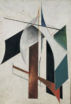 Alexander Rodchenko Non-Objective Painting 1917 abstract painting