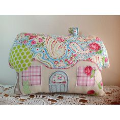 $40.00 Fairytale mini cottage cushion by TotsOfToday on Handmade Australia
