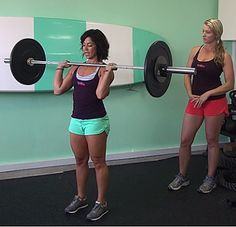 A Barbell Complex For Strength And Fat Loss - Girls Gone Strong Six Pack Abs Workout, Gym Workouts, Personal Fitness, Physical Fitness, Girls Gone Strong, Body Building Tips, Fat Loss Diet, Gym Time, Barbell