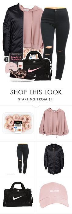 """HBD @Slayvage !!"" by roguebabe ❤ liked on Polyvore featuring Chicnova Fashion, Rut&Circle, NIKE, women's clothing, women's fashion, women, female, woman, misses and juniors"