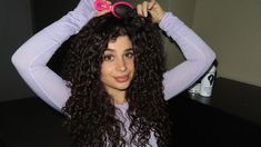Checkout how our founder styles her curls using our avocado & rose oil clump & define cream. She loves more hold so she adds our light creme gel. hair videos Curly hair tutorial with new products Curly Hair Styles, Curly Hair Tips, Curly Hair Care, Long Curly Hair, Curly Hairstyles For Medium Hair, Naturally Curly Hairstyles, Curly Hair Products, Natural Curly Hair, Gel Hairstyles
