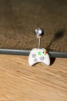 XBOX 360 Controller - Belly Ring Sugical Steel 18g 16g or 14 Gauge. $14.00, via Etsy.