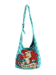 3bdd3aa1e3bd Disney The Little Mermaid Kiss The Girl Hobo Bag