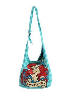 Disney The Little Mermaid Kiss The Girl Hobo Bag | Hot Topic