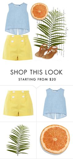 """""""waves"""" by devin-10 on Polyvore featuring Boutique Moschino, Steve J & Yoni P and Pier 1 Imports"""