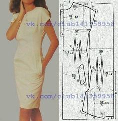 Amazing Sewing Patterns Clone Your Clothes Ideas. Enchanting Sewing Patterns Clone Your Clothes Ideas. Sewing Dress, Dress Sewing Patterns, Sewing Clothes, Clothing Patterns, Diy Clothes, Dress Tutorials, Sewing Tutorials, Jugend Mode Outfits, Make Your Own Clothes