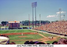 1976 montreal expos | Jarry Park (1969-1976) - Montreal Expos
