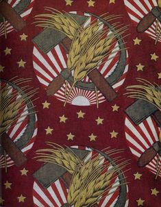 Soviet fabric from the 1920-30s