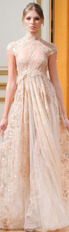 Zuhair Murad Haute Couture | F/W 2013 - I need to stop sneaking wedding gowns in my style board hahaha