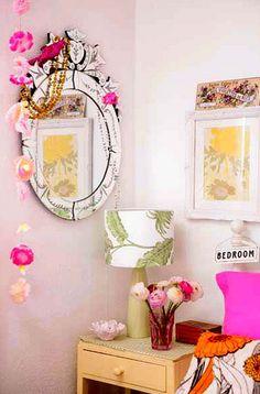 mirror+flowers~