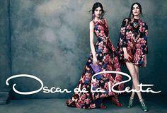 Kate Bogucharskaia, Patrycja Gardygajlo & Iris Van Berne for Oscar de la Renta Fall/Winter 2013/2014 Campaign | The Fashionography