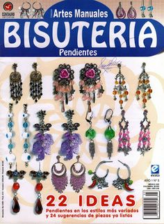 "ARTES MANUALES ""BISUTERIA"" PENDIENTES - Azhalea BIJUOX - Picasa Webalbumok"