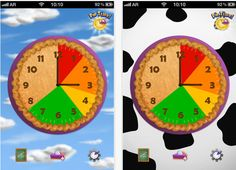 "Pie Time ($1.99) Pie time is a clock app that helps kids - and their parents -make time management easy as pie!    Pie Time helps kids and adults stay on track by showing how a slice of pie for a given task gets eaten away over the passage of time.    The ability to see how much is left in the slice helps kids to understand what ""We're leaving in 5 minutes"" really means. Time Management Apps, Great Apps, Pie Pie, Stay On Track, Make Time, Pedi, Ipod Touch, Ducks, Autism"