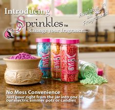 I became an independent consultant for Pink Zebra because I am a candle/simmer pot Freak!!  Their Sprinkles... Are incredible!!