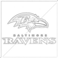 1000 images about stencil on pinterest printable for Baltimore ravens coloring pages print