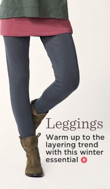 LOGO Layers by Lori Goldstein Knit Leggings