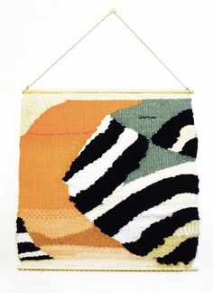 11 Woven Wall Art Hangings for a Home as Cozy as Your Outfits RN via Brit + Co Weaving Art, Tapestry Weaving, Loom Weaving, Woven Wall Hanging, Tapestry Wall Hanging, Wall Hangings, Autumn Leaf Color, Modern Tapestries, Textiles