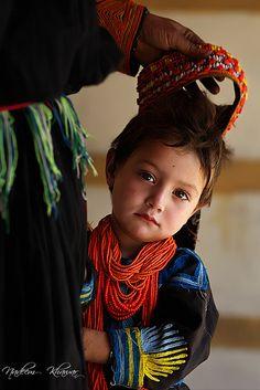Kalash kid, Pakistan