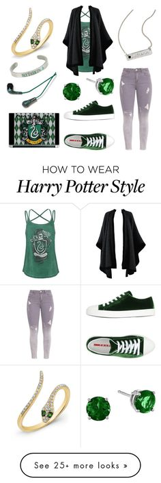 """""""Slytherin"""" by methebault on Polyvore featuring Anne Sisteron, Warner Bros., Yves Saint Laurent and Prada Sport Harry Potter Style, Harry Potter Outfits, Harry Potter World, Slytherin Pride, Slytherin House, Hogwarts, Gothic Fashion, Women's Fashion, Fashion Outfits"""