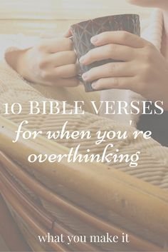 Bible Verses About Faith:Do you have trouble worrying about unlikely things? Here are 10 Bible verses to hold to when you're overthinking! Christian Life, Christian Quotes, Christian Living, Christian Decor, Christian Girls, Bible Scriptures, Bible Quotes, Worrying Quotes Bible, Bible Verses About Peace