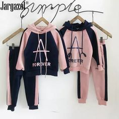 Set of clothes for girls, a sweatshirt with a . Cute Comfy Outfits, Sporty Outfits, Stylish Outfits, Kids Outfits, Fashion Outfits, Kids Winter Fashion, Kids Fashion, Night Dress For Women, Stylish Hoodies
