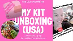 Unboxing the Non-GMO Pre-Launch Kit from Epicure Online Cooking Classes, Healthy Family Meals, Vegetarian Paleo, I Want To Eat, Whole Food Recipes, Stress, Things To Come, Product Launch, Make It Yourself