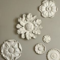 Texture relief wall plaques.....great.
