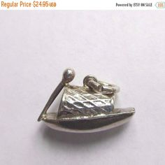 30% Off Fall Sale Sterling Silver Chinese Junk Boat by PGSCoins