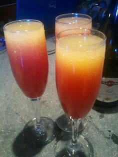 Pomegranate Kissed Mimosa