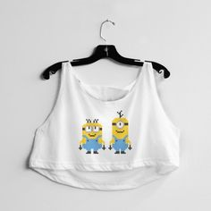 Aww, these little guys. You just love 'em. And now you can love them in glorified 8-bit realness. #minion #movies #animated #cute #8bit #despicable