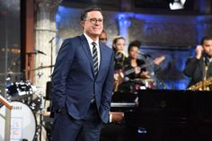 Stephen Colbert Slams Al Franken Over Sexual Harassment Claims Late Night Comedy, Late Night Show, Jon Batiste, Online Lottery, Stephen Colbert, Jimmy Fallon, Saturday Night Live, Comedy Central
