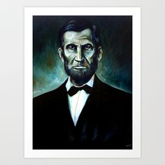52 best honest abe images on pinterest abraham lincoln civil wars abe lincoln art print by red calaveras 2000 fandeluxe Image collections