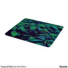 Tropical Fabric, decorative glass Cutting Board from HomeWare.