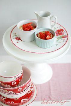 Liebesbotschaft: Kurze Foodblogger-Karriere + Mini Cheesecake!