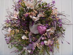 Valentine wreath spring wreath summer wreath by designsdivinebyjb, $95.00