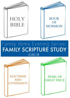 Family Home Evening - Family Scripture Study (simple lesson to bring your family closer together)