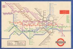 Harry Beck's 1931 tube map