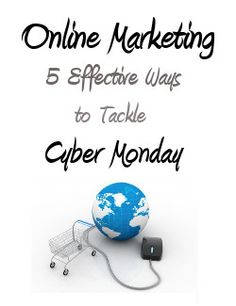 Utilizing online marketing tactics will help you stay ahead of the curve and promote your Cyber Monday sales to your customers. Here are 4 effective ways to tackle a Cyber Monday online marketing campaign.