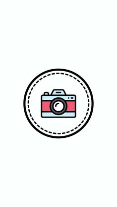 Camera Drawing, Insta Bio, Cute Disney Wallpaper, Instagram Logo, Instagram Story Template, Social Media Icons, Instagram Highlight Icons, Story Highlights, Insta Story