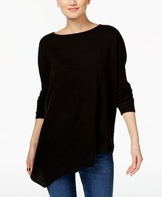 INC International Concepts Asymmetrical Tunic Sweater, Only at Macy's | macys.com