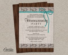 Rustic Wedding Reception Invitation, Burlap Wedding Reception Invitations, Printable Turquoise And Brown Wedding Reception Invitation Wedding Rehearsal Invitations, Housewarming Party Invitations, Wedding Reception Invitations, Rustic Bridal Shower Invitations, Engagement Invitations, Invites, Dinner Invitations, Invitation Ideas, Rustic Purple Wedding