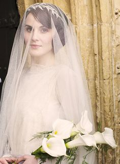 Lady Mary - I want to feel like Lady Mary marrying her Mathew on my wedding day :) :)