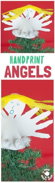 HANDPRINT ANGEL CRAF