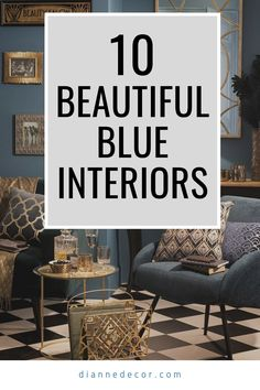 Blue is a calming and relaxing color.  But, what about an all blue interior? What would that look like? Spoiler alert! It would look amazing.    #blueinterior #bluedecor #classicblue #blueroom #roomideas #homedecorating #interiordesign #interiordecorating #interiorstyle #decoratingideas Blue Rooms, Blue Walls, Decorating Tips, Interior Decorating, Living Room Decor Inspiration, Relaxing Colors, Blue Interiors, Blue Cabinets, Blue Home Decor