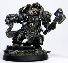 Ulrik the Slayer in Terminator Armour