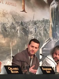 Richard Armitage looks unrecognisably suave without all that beard and prosthetics